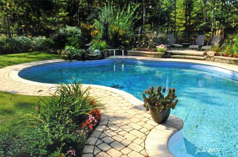 Les am nagements dub - Amenagement exterieur piscine creusee ...